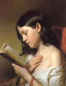 girl read