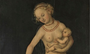 Lucas Cranach the Elder's Charity (1537-50).