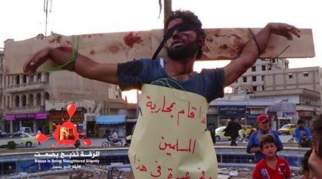 Εσταυρωμένος, Συρία